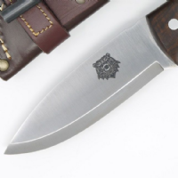 TBS Grizzly Bushcraft Survival Knife - Firesteel Edition - Turkish Walnut